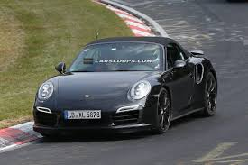 camo porsche 911 spy shots porsche turbochargers the 911 convertible see the camo