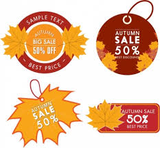 sales tag template polygonal design decoration free vector