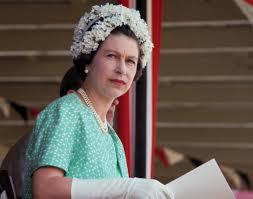 queen elizabeth ii wearing a flowered cap photos 60 years of