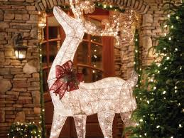 fabulous outdoor deer decorations all about home design