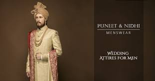 wedding collection for mens puneetandnidhi