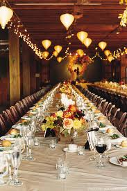 Fall Table Decorations For Wedding Receptions - fall wedding style bridalguide