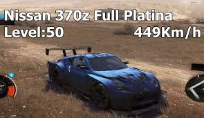 nissan 370z top speed mph the crew nissan 370z circuit 449km h full platina level 50 circuit