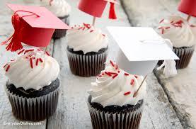 graduation cupcake ideas graduation cap cupcake toppers family crafts
