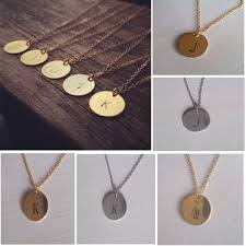 letter plate necklace images Cheap tiny pendant necklace find tiny pendant necklace deals on jpg