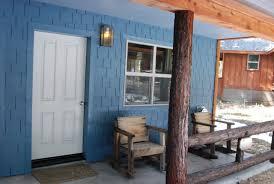 cabin porch yosemite vintage cabins evergreen lodge