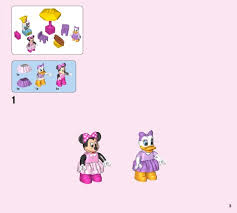 lego minnie mouse bow tique instructions 10844 duplo