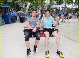 Six Flags Direction Nick Jonas Six Flags With Michael Urie Photo 474225 Photo