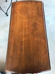 How To Remove Water Rings From Wood Table Removing Black Stains In Wood Furniture With Oxalic Acid 6 Steps