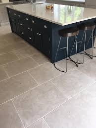 Grey Tile Laminate Flooring Slate Look Kitchen Tile Floor For The Home Pinterest Tile