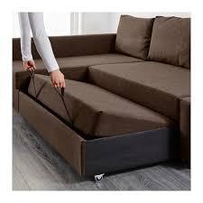 Corner Sofa Chaise Friheten Corner Sofa Bed With Storage Skiftebo Brown Ikea