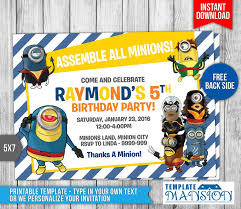 x men minions birthday invitation by templatemansion on deviantart