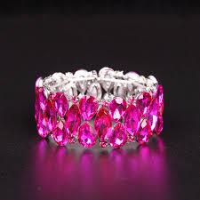 cuff bracelet jewelry images Fashion aaa crystal cuff bracelets bangles big stretch bangle for jpg