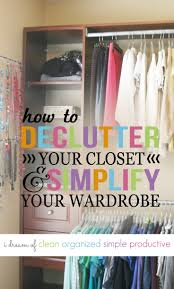 how to declutter your closet in 8 simple steps