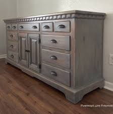 for this finished i used rust oleum weathered gray stain for the