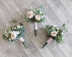bridesmaid bouquet bridesmaid bouquets etsy