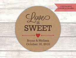 Stickers For Favors by Best 25 Wedding Favour Jar Labels Ideas On
