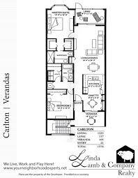 Company Floor Plan by Carlton Veranda Floor Plan Heritage Palms Linda Lamb U0026 Company