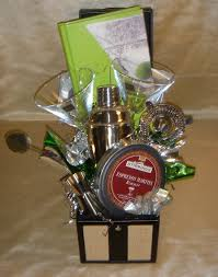 martini gift basket gotta it san diego custom gift baskets martini gift