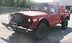 jeep fire truck for sale 1968 kaiser jeep m715 brush firetruck item h6419 sold o