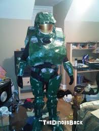 my halo costume for halloween