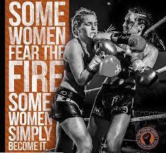 Muay Thai Memes - are you afraid of the fire georgina noel