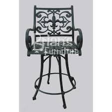 Fleur De Lis Patio Furniture Shop Cast Aluminum Bar Stools Brian U0027s Furniture Baton Rouge