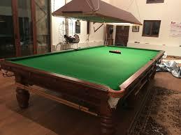 full size snooker table full size snooker table for sale turned leg modern circa 1980s