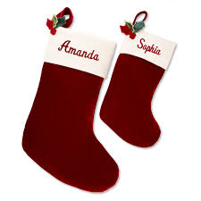 stockings personalized christmas stockings at things remembered