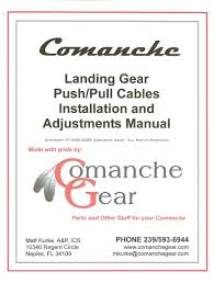 comanchegear landing gear
