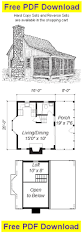 Cabin Plans Free Free Cabin Plan And Blueprint Mini Cabin Plans C102 Here