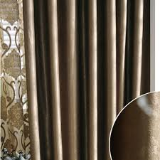 Noble Curtains Luxurious And Noble European Style Living Room Curtains Buy Brown