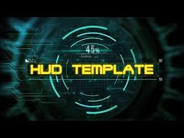 download free intro template sony vegas pro hud opening