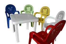 childrens white table and chairs resol childrens kids garden outdoor plastic chairs table set