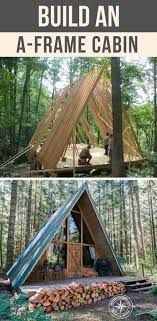 small a frame cabins build an a frame cabin frugal cabin and change