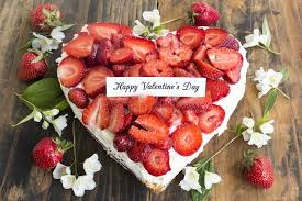 s day strawberries happy s day greeting card with heart cheesecake with