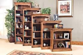 Solid Wood Bookcases With Glass Doors Wood Bookcase With Glass Doors Furniture Inspiring Solid Wood