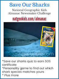 a rup life national geographic kids almanac u0026 shark toss and