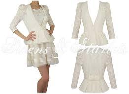 soma london womens ladies new cream vintage lace pearl pretty bow