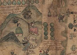 aztec map of mexico aztec map reveals a glimpse of in 1500s mexico