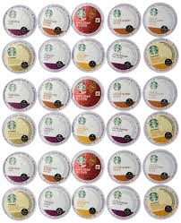 30 count variety pack of starbucks coffee k cups for all keurig