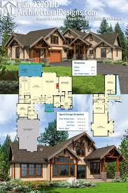 Luxury Craftsman Home Plans by 267 Best Rugged And Rustic House Plans Images On Pinterest