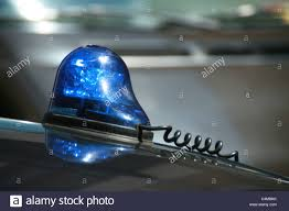 blue light on car blue light on top of police car roof stock photo 37327575 alamy