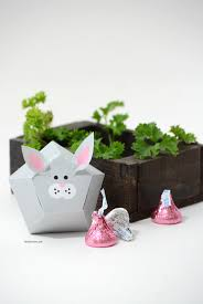 Make Your Own Toy Box Pattern by Easter Bunny Treat Box The Idea Room