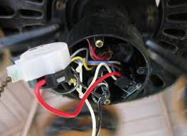 hunter 23855 ceiling fan how to get to capacitor doityourself
