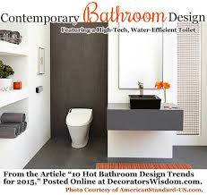 10 bathroom design trends for 2015 u2013 decorator u0027s wisdom