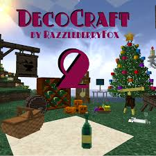 decocraft 2 1 decorations for minecraft 50 more models and