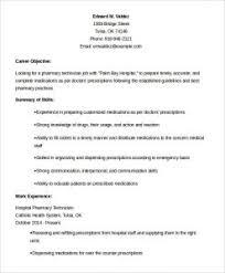 Pharmacy Technician Sample Resume by Plush Design Ideas Pharmacy Technician Resume Sample 7 Example