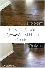 can i put cabinets on vinyl plank flooring how to repair luxury vinyl plank flooring the palette muse