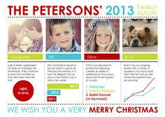 year in review christmas card year in review christmas card with photo infographic christmas